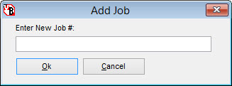 add job screen